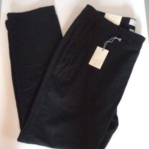 A NEW DAY Women's 16 R Black Stretch Twill Pants